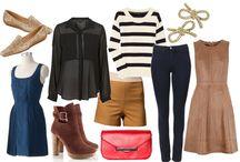 fall outfits/wardrobe