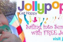 Sailing Into Summer with FREE JollyPops / Ahoy! FREE JollyPops with Summer Specials! Choose Personalized Clips, Baby Gund, CuddleSquare & more...