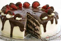 decoração de bolos e tortas