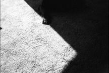 Shadow or corner.