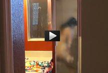 Video Incendiary con Luisa Corna catturato dai paparazzi a doccia !!!