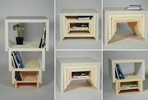 Образцы картонной мебели