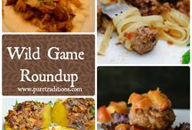 Wild Game Dishes / by Marj Mcmurray