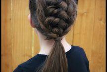 Girl hair-do