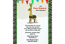 donkey invitation