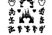 Disney SVG vector clipart
