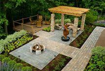 Nyaraló-kert / Cottage and garden ideas