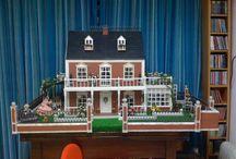 Casa di bambola / Interni e esterni