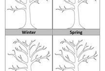 seizoenen, maanden & weer