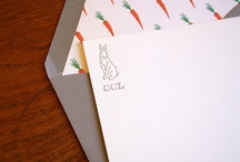 P note cards