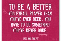 Volleyball Mom / When your life revolves around matches, nets and volleyballs - you're a Volleyball Mom.