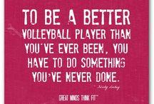 Volleyball / by Jennifer Wehman