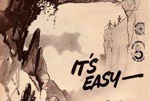 """It's Easy on a Triumph / """"It's Easy on a Triumph"""" Motorcycle Ads"""