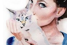 """FELINES""""The greatness of a nation can be judged by the way its animals are treated.""""  Mahatma Gandhi"""