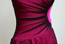 Rollkunstlaufkleider: Fantasie (rosa/pink)