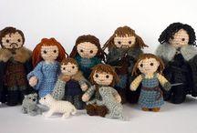 Crochet of Thrones / Game of Thrones (ASOIAF) characters... in crochet. :)