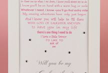 Christening poems / Gifts for Godmother, Godfather, Godparents and the star of the show themselves