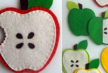 Manualidades frutas
