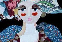 katherine roumanoff / collage stoffa