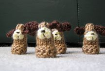 Crochet and Knit - Finger Puppets!