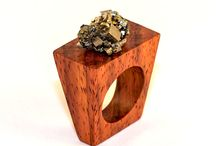 Design wood jewelry / Design wood jewelry - pendants, rings, bracelets, earings.