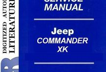Jeep XK Commander Service Manuals