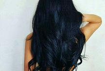 Dark hair color