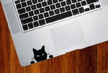 Cat Decals for Laptop