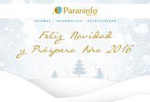 FELIZ NAVIDAD 2015/2016. FELIZ AÑO NUEVO 2016. / La Academia Paraninfo desea, un año más, unas Felices Fiestas a todos. Desear, también, un Año Nuevo 2016 lleno de alegría, felicidad y éxitos.