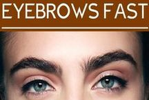 Thicker eyebrows