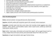 Vata body type meal plan
