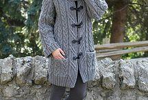 dámské pletené i háčkované