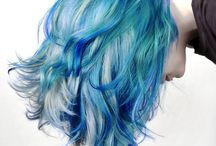 Fry's hair ideas / I'm totally in love with the ombre and the pastels <3