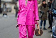 Bold Color / Sometimes you need to be bold! Bold color outfits we love found on our favorite street style stars!