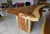 Live edge dinning table / Live edge table