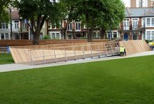Warrior Square Gardens Project (Southend-on-Sea) / A bridge, a feeder wall and seating to go into Warrior Square Gardens in Southend-on-sea.