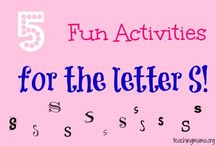 Letter S Preschool / Preschool activities, books, and crafts for the Letter S.