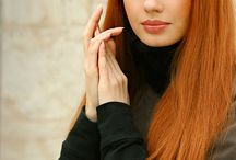 Beauty Redhead Red Hair