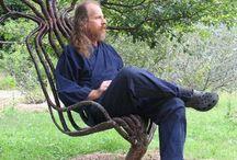 willowchairs / stole og andre møbler i pil og andre træ materialer