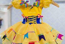 Vestidos juninos e ideias festa junina