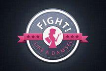 Damsel In Defense / Fight like a girl / by Benita Matthews