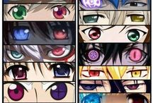 Anime oči
