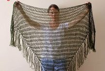 Crochet Cowl, Scarf