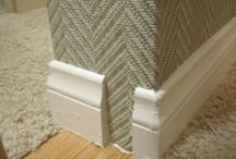Grass Cloth / Chevron patterned Grass Cloth Wallcovering / by Baughman Wallcovering