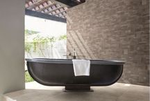 Exterior Wall Tiles / Exterior wall tiles in hardwearing porcelain and natural stone. We're happy to offer advice on all outdoor tiles and recommend external tiles suitable for the British weather.