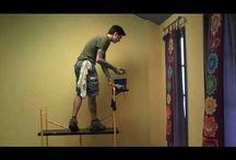 Anthroposophy: Lazure painting.