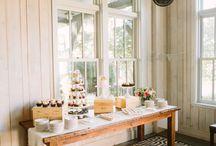 dessert tables / by Debbie Kirchner