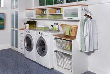 Home: Laundry room & organization