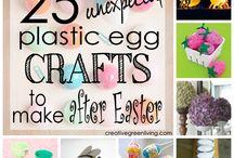 Plastic eggs / by Debra Mainiero
