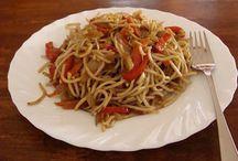 čínske jedlá